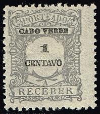Buy Cape Verde #J22 Postage Due; Unused (2Stars) |CPVJ22-03XRS