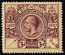 Buy Bermuda #76 King George V; Unused (3Stars) |BER0076-01XRP