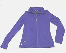 Buy LoLe purple front zipper sport sweater women size M