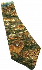 Buy Lost Kingdom Lion Tiger Jaguar Big Cat Nature Jungle Novelty Tie