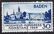 Buy GERMANY Alliiert Franz. Zone [Baden] MiNr 0046 I ( O/used ) [01] geprüft