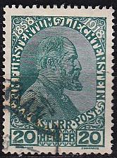 Buy LIECHTENSTEIN [1918] MiNr 0010 ( O/used )