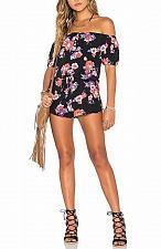 Buy Tularosa Romper Black w / flowers Size S Worn once