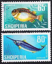 Buy ALBANIEN ALBANIA [1967] MiNr 1131 ex ( O/used ) [01] Fische