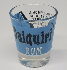 Buy COOL Daiquiri Rum Shot Glass w/Recipe 🥃🥃