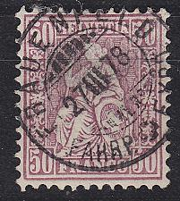 Buy SCHWEIZ SWITZERLAND [1867] MiNr 0035 b ( O/used ) [01]