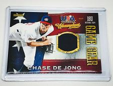Buy MLB CHASE DELONG 2013 PANINI USA BASEBALL GAME WORN JERSEY MINT