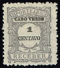 Buy Cape Verde #J22 Postage Due; Unused (4Stars) |CPVJ22-04XRS