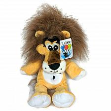 "Buy NWT Classic Toy Co Gold Lion Plush Brown Mane Stuffed Animal 2011 16"""