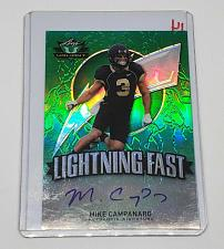 Buy NFL MIKE CABANERO AUTOGRAPHED 2014 LEAF VALIANT GREEN REFRACTOR MINT
