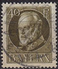 Buy GERMANY Bayern Bavaria [1916] MiNr 0100 II A ( O/used )