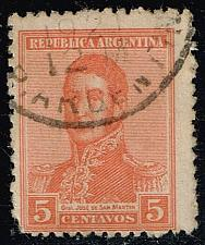Buy Argentina #253 Jose de San Martin; Used (0.25) (1Stars) |ARG0253-03XBC
