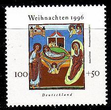Buy GERMANY BUND [1996] MiNr 1892 ( **/mnh ) Weihnachten