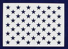 """Buy 50 Star Field Stencil 14 Mil-G-Spec -9""""L - Painting /Crafts/ Templates"""