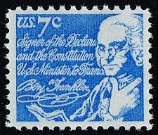 Buy US #1393D Benjamin Franklin; MNH (0.25) (4Stars) |USA1393D-05