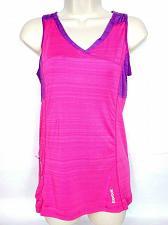 Buy Reebok Women's Racerback Tank Top Small Pink Purple Athletic Zip Pocket Stretch