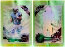 Buy NFL 2015 Topps High Tek Pattern 1 Grass/Waves Ameer Abdullah #82 Autographed Rc