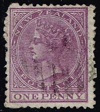 Buy New Zealand #51 Queen Victoria; Used (3Stars) |NWZ0051-01