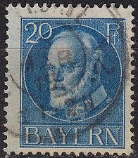 Buy GERMANY Bayern Bavaria [1916] MiNr 0097 II A ( O/used )