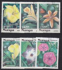 Buy NICARAGUA [1985] MiNr 2586-91 ( O/used ) Blumen