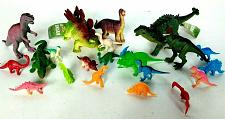 Buy Dinosaur Lot of 22 Figurine Small Large Prehistoric Figures Toy Lot Rubber