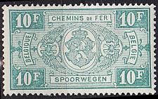 Buy BELGIEN BELGIUM [Eisenbahn] MiNr 0166 ( */mh )