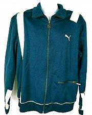 Buy Puma Men's Sweatshirt Jacket Size Large Zip Up Blue White