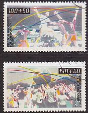 Buy GERMANY BUND [1990] MiNr 1449-50 ( O/used ) Sport