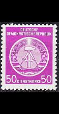 Buy GERMANY DDR [Dienst A] MiNr 0014 I ( **/mnh )