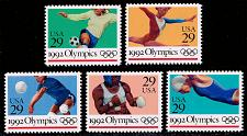 Buy US #2637-2641 Summer Olympics Set of 5; MNH (3.00) (4Stars) |USA2641set-01