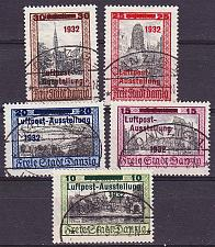Buy GERMANY REICH Danzig [1932] MiNr 0231-35 ( OO/used )