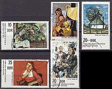 Buy GERMANY DDR [1974] MiNr 2001-05 ( OO/used ) Gemälde