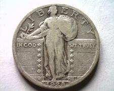 Buy 1928 STANDING LIBERTY QUARTER FINE / VERY FINE F/VF NICE ORIGINAL COIN BOBS COIN