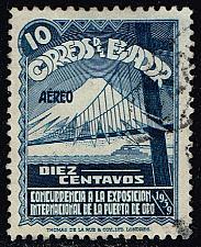 Buy Ecuador #C75 Golden Gate Bridge and Mountain; Used (0.25) (4Stars) |ECUC075-01XRS