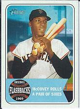 Buy Willie McCovey 2018 Topps Heritage Baseball Flashbacks