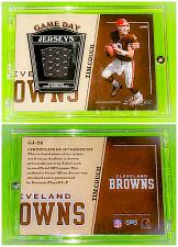 Buy NFL Tim Couch Cleveland Browns 2004 Donruss Game Worn Jersey Relic Incased Mnt