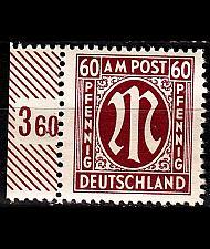 Buy GERMANY Alliiert AmBri [1945] MiNr 0033 b C ( **/mnh )