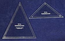"Buy 2 Pc Kaleidoscope Set For 12"" Finished Square W/holes & Seam Allowance-1/8"