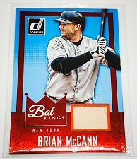 Buy MLB BRIAN MCCAIN NEW YORK YANKEES 2016 PANINI BAT KINGS GAME USED BAT RELIC MNT