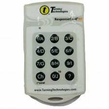 Buy Turning Technologies Response Card Clicker Remote RCRF-02 Tested Works