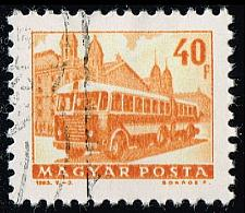 Buy Hungary #1510 Bus and Trailer; CTO (0.25) (3Stars) |HUN1510-01
