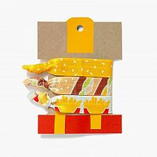 Buy New Limited McDonald's Hair Ties elastic band holder Fast Free Shipping