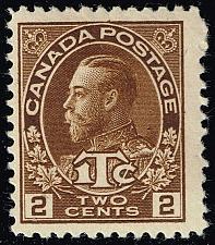 Buy Canada #MR4 King George V; Unused (2Stars) |CANMR4-03XRP