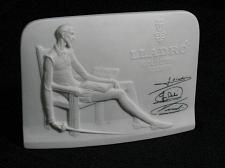 Buy LLADRO Stand Collectors Society Store Display Name Sign Plaque China Vintage