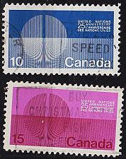 Buy KANADA CANADA [1970] MiNr 0456-57 x ( O/used ) UNO