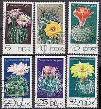 Buy GERMANY DDR [1974] MiNr 1922-27 ( OO/used ) [01] Pflanzen