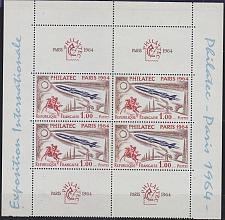 Buy FRANKREICH FRANCE [1964] MiNr 1480 KB ( **/mnh ) 4er mit Zierfelder