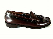 Buy Regal Burgundy Leather Tassels Slip On Loafer Dress Shoes Men's 8.5 M (SM4)