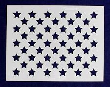 "Buy 50 Star Field Stencil 14 Mil -9""H X 11.5L"" - Painting /Crafts/ Templates"