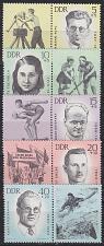 Buy GERMANY DDR [1963] MiNr 0983-87 Zf ( **/mnh ) Sport